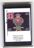 ROYAL MARINES COLOURS 1858 LARGE FRIDGE MAGNET